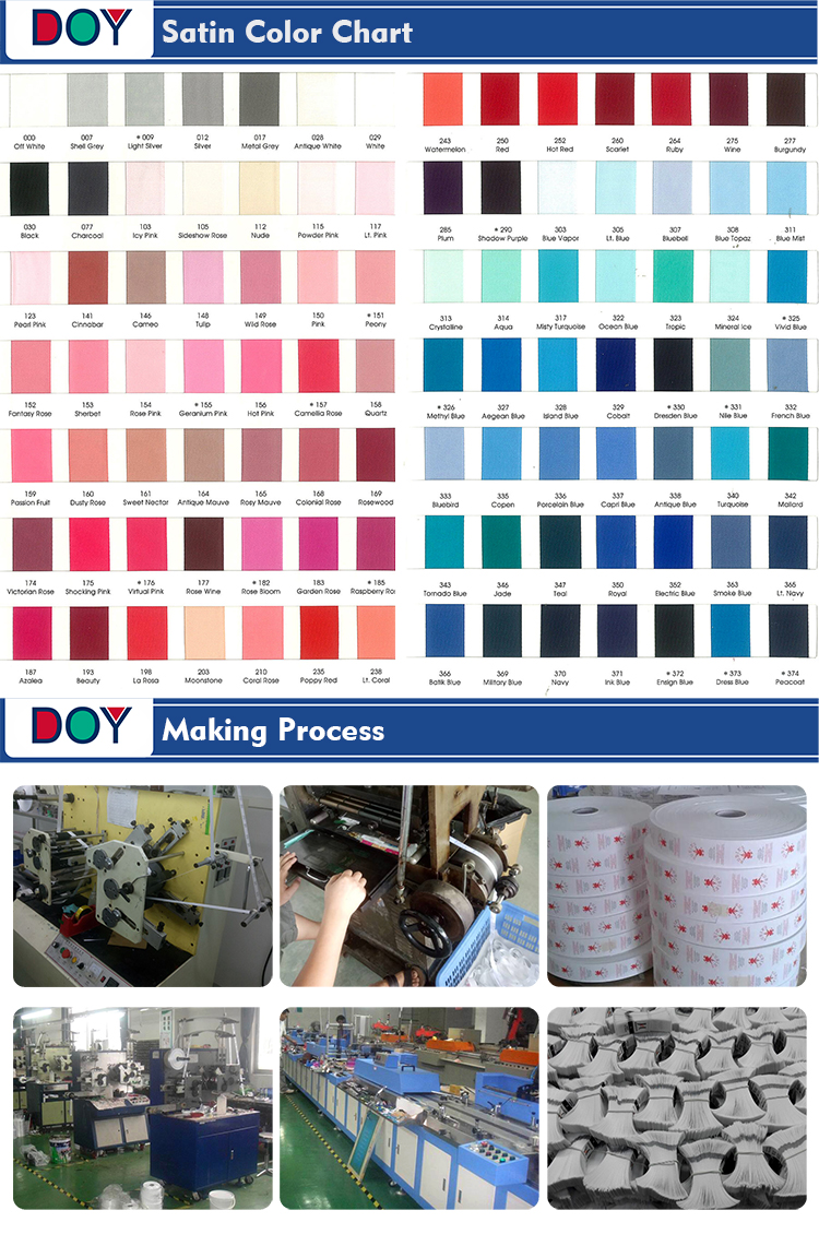 Clothing Tags Factory Custom Printed Brand Name Logo Washing Instructions Satin Care Label for Towel