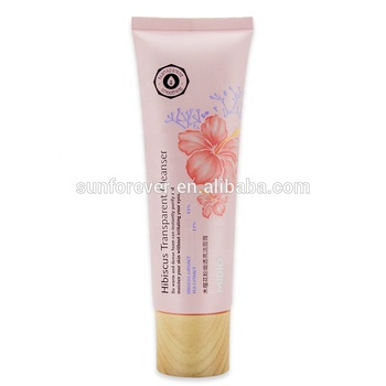 Face use deep cleansing moisturizing hibiscus cleanser natural