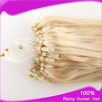 Brazilian Remy Micro Loop Hair Micro Ring Hair Extension 1g/s