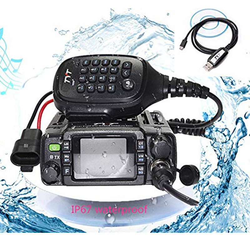 IP67 방수 Dual band Mobile Radio TYT TH-8600