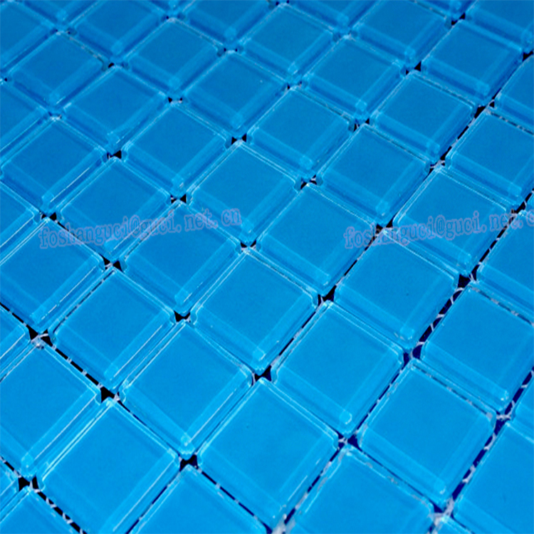 China Mosaic Factory Supply Blue Pool Tile Crystal Glass Tile Mosaic - Buy  Mosaic Tile,Glass Mosaic Tile,Swimming Pool Glass Mosaic Tile Product on ...