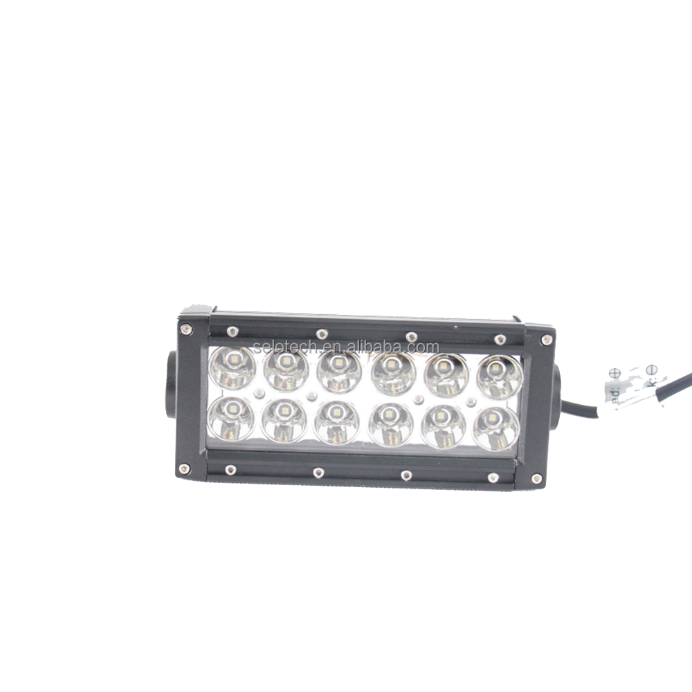 Selo 50 Inch 3W Epistar LEDs Light Bar spot flood combined for Off-road, Truck, Car, ATV, SUV, Jeep