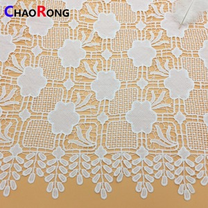 CRF1838 shaoxing chantilly bridal lace fabric wholesale