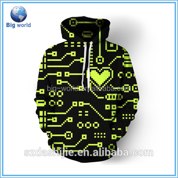Fashion digital printing hoodie, OEM mens custom sweatshirt with hood, all over printing hoodie sweatshirt custom