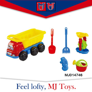 Summer creative model cars beach set sand toy for kids