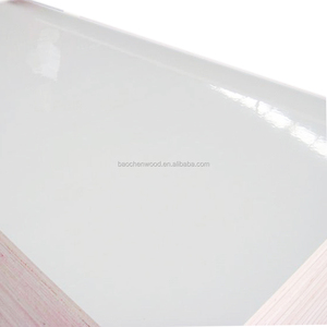 Premium quality White formica HPL laminated plywood