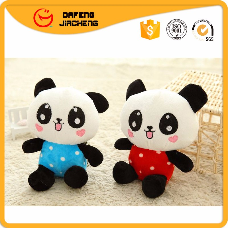 Little Lovely Small Likelife Plush Panda Toy