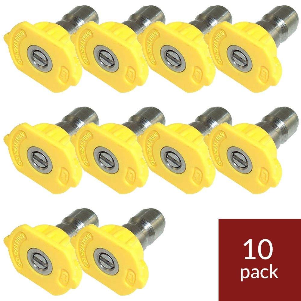 0,15,25,40 Degrees, Size #055 General Pump Nozzle Kit 4-Pack 055 QC