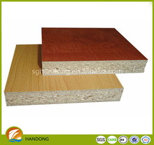 18mm 21mm melamine board/particle board size/prices chipboard