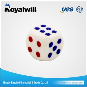 Professional manufacture Party Use engraved Acrylic Dice
