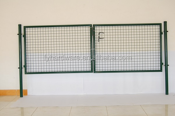 used wrought iron door main gate/ gate grill design/Ornamental Garden Wrought Iron Gate