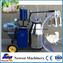 Factory direct sale stainless steel milking apparatus for cow,milking unit machine,milk extruding machine