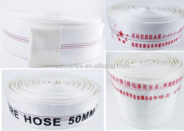 PVC fire hose with good quality at factory price
