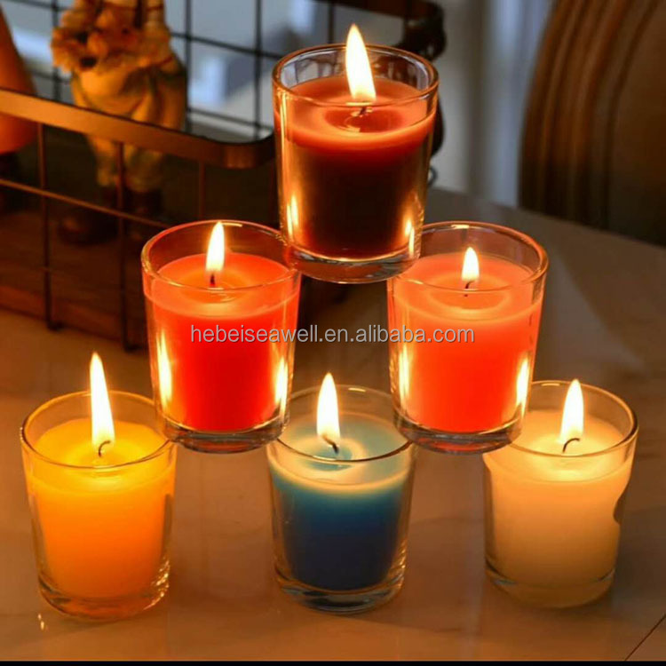 Fragrance Oils Transparent Clear Glass Jar Scented Color Candle - Buy  Fragrance Oils Candle,Cheap Color Candles,Color Candle Product on  Alibaba com