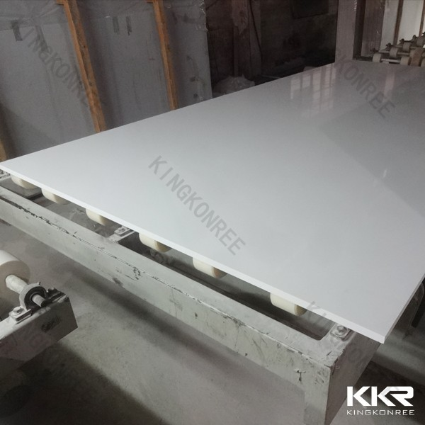 KKR natural white quartz stone slab, white star galaxy quartz slabs