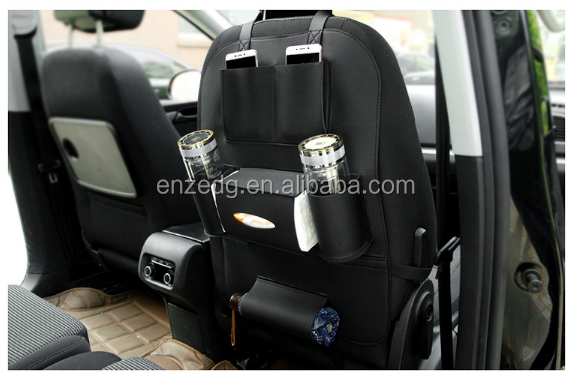 100 PU Leather Car Auto Seat Back Protector Cover For Children Kick Mat Mud Clean