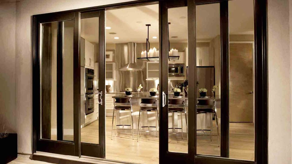 China Manufacturer Aluminum Lift Sliding Glass Patio Doors