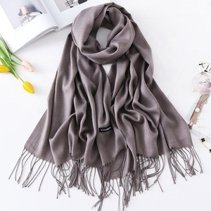 Scarf women hijab Wholesale popular gifts Cashmere Scarf for women Classic winter soft scarf