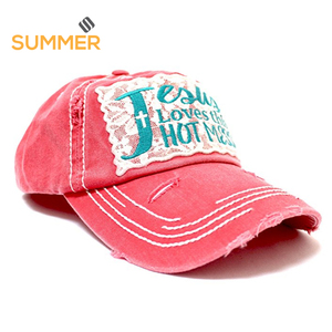 2018 custom branded jean hats golf cap for sale