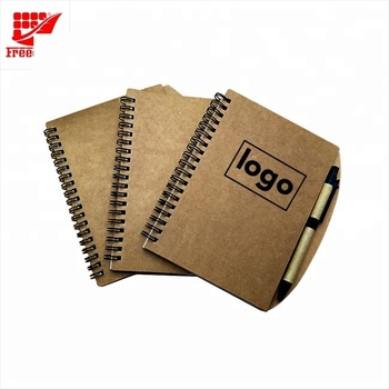 Logo Customized Spiral Paper Note Book