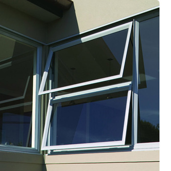 Silicon Joint Corner Fixed Awning Style With Laminated Gl