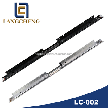 Light-duty Synchronous Opening Ball Bearing Table Slide(extension table mechanism)