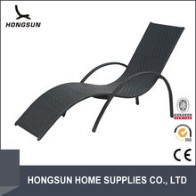 Wholesale Recliner Poly Rattan Sun Swimming Pool Beach Chair
