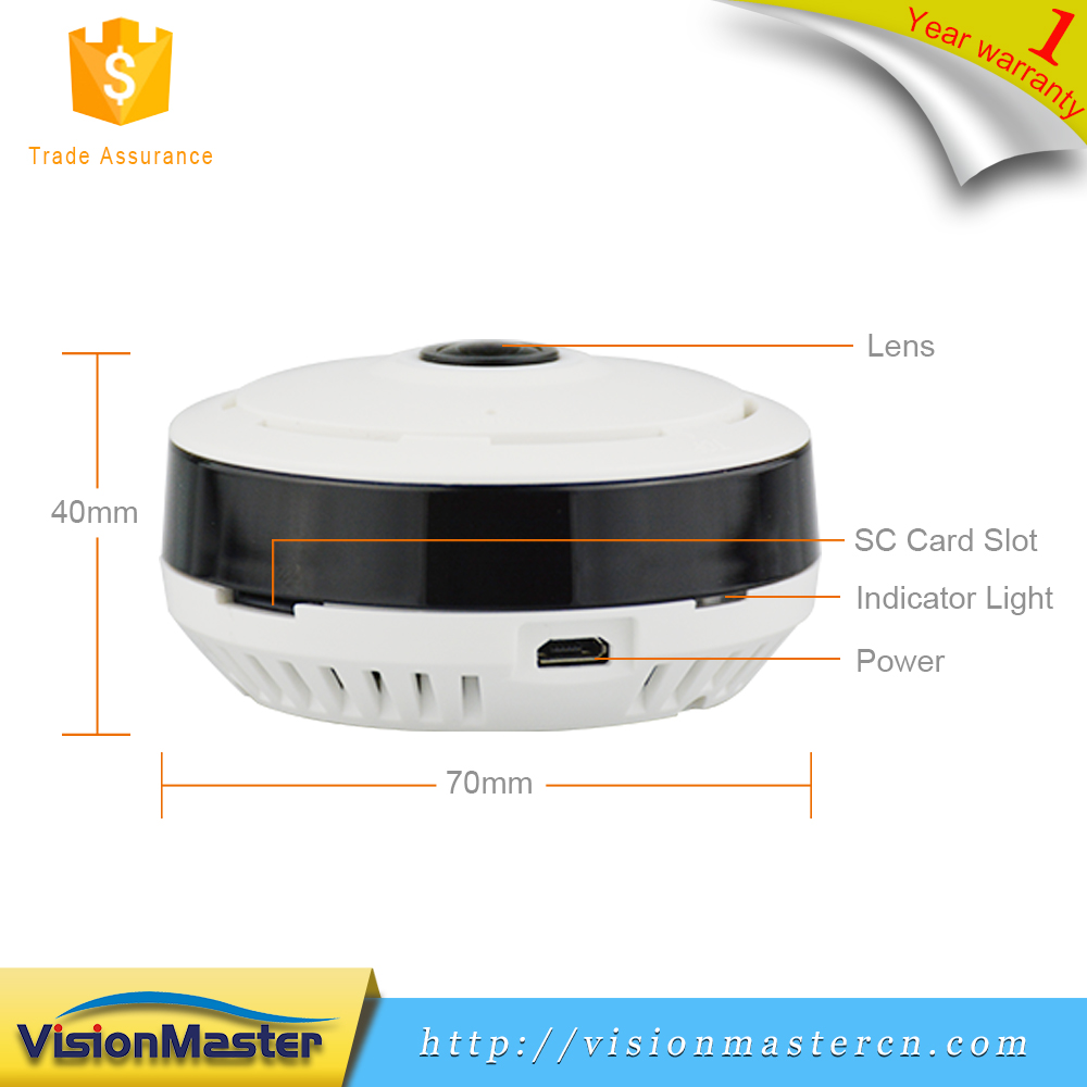 960P HD 360 Degree Full View Wireless Fisheye Wifi IP Camera For Home Store Office Monitoring
