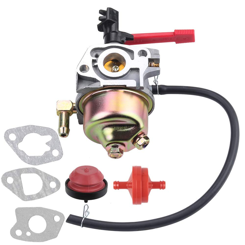 Carburetor for Troy Bilt Carburetor for MTD Cub Cadet Snow blower 951-10956 951-10956A 751-10956 751-10956A 751-14018 951-14018 751-12612 951-12612 Huayi 161SA 161S for Engine Snowblower(951-10956A)