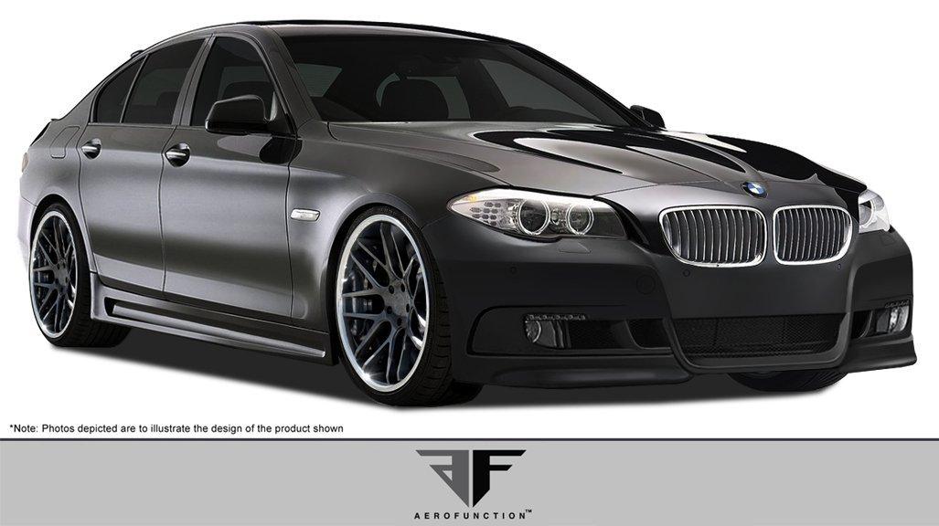 2011-2015 BMW 5 Series F10 4DR AF-2 Body Kit ( GFK ) - 4 Piece