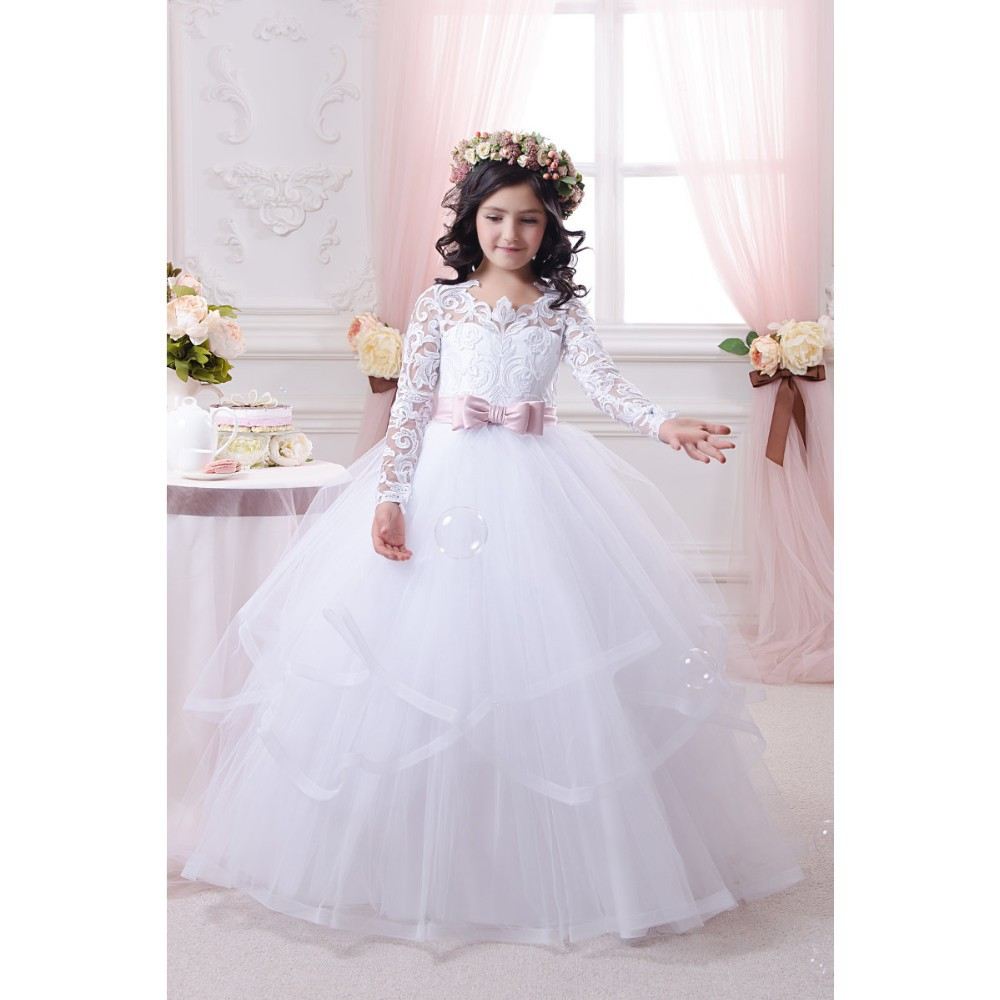 beautiful princess wedding dress with butterfly high quality wedding dress for baby gir