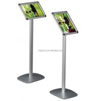 Aluminum Snap Open Frame Display Menu Stand Tablet Stand
