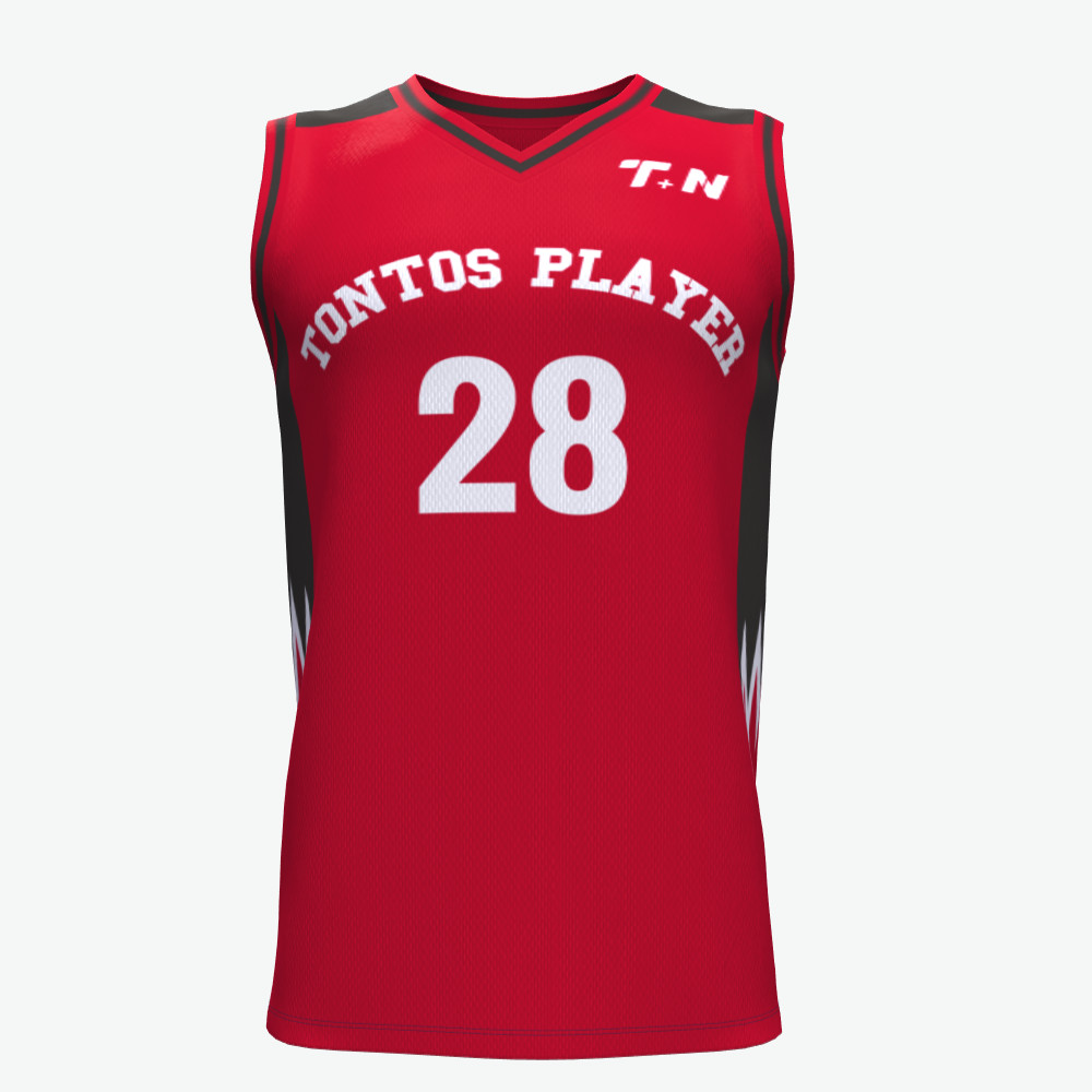 Neueste design sublimation college basketball jersey