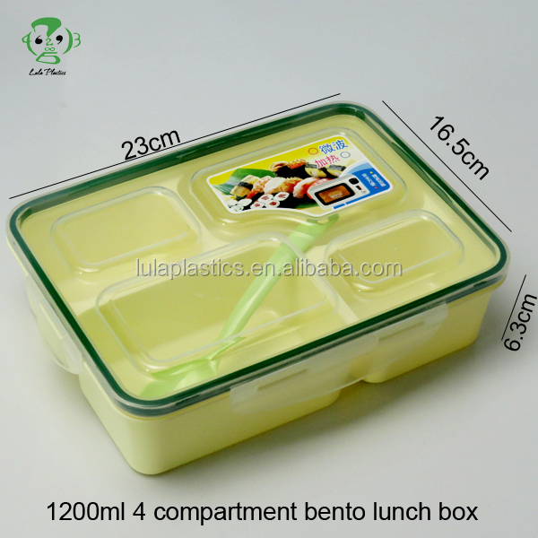 leakproof bento lunch box with compartments buy leakproof bento lunch box with compartments. Black Bedroom Furniture Sets. Home Design Ideas