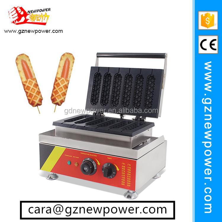 Automatic Hot Dog Waffle Maker