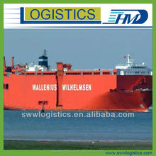 Textile shipping by sea from China to Hamburg Germany