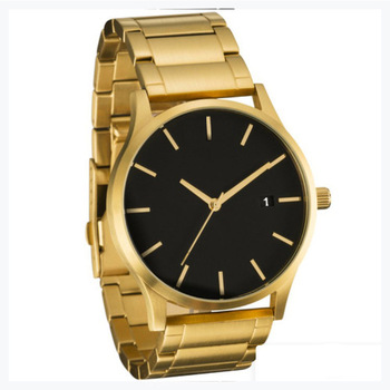 Luxury Brand OEM Design Quartz Watch Stainless Steel Back Mens Watches