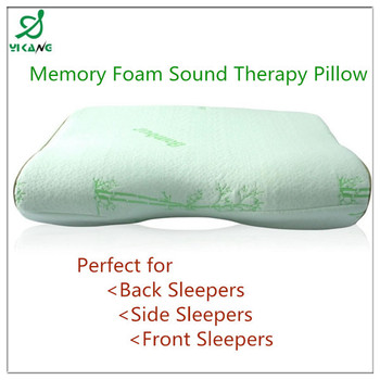 hypnosis foam neck pillow with to read in the bed - Memory Foam Neck Pillow