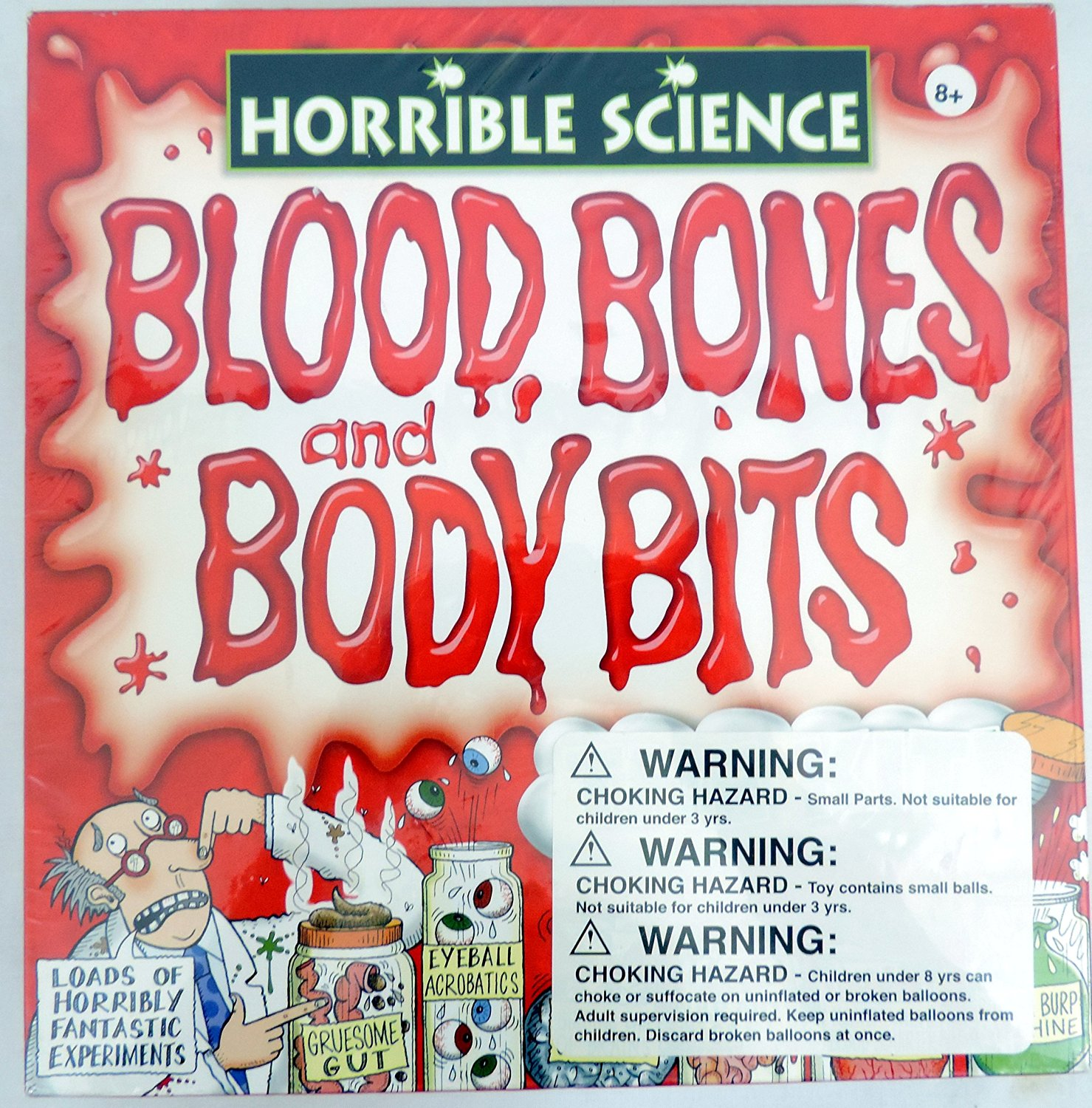 Get Quotations · Horrible Science Blood, Bones, & Body Bits The ...