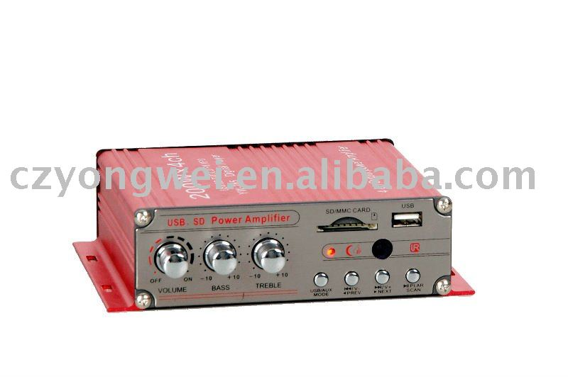 Car Audio Mp3 Player Amplifier