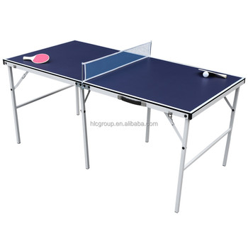 HLC 60u0027u0027 Midsize Table Tennis Table With Bat And Balls For Junior