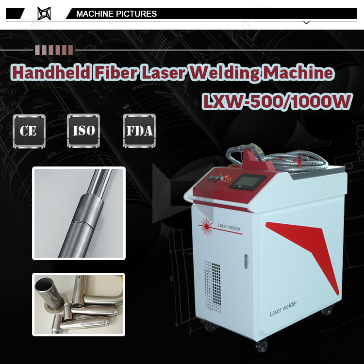 Hand held 500w 750w 800w 1000watt laser welding for metal plate and pipe welding