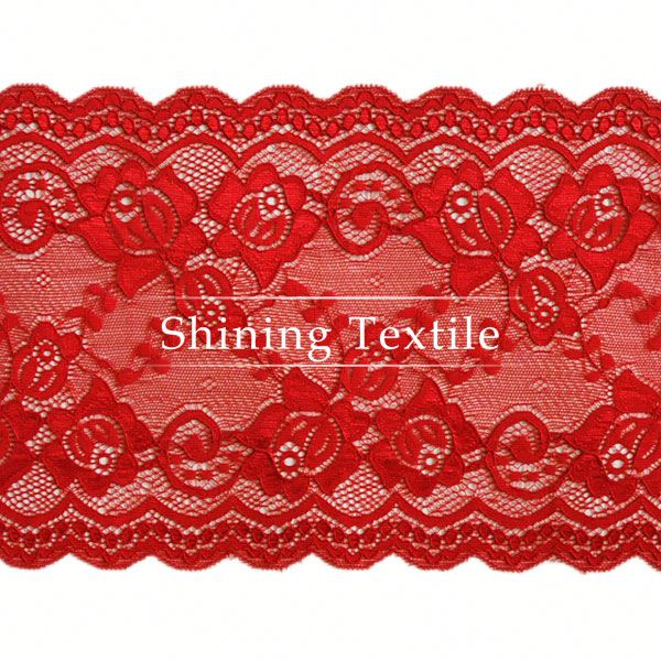 Jacquard And Textornic Nylon Spandex Lace Bedding For Lingerie