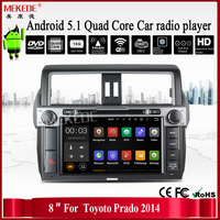 Android 5.1 cassette recorder with RK3188 1.6GHz Cortex A9 Quad core for Toyota Prado 2014