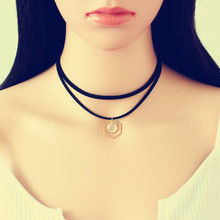 good quality fashion amber teething necklace custom choker jean necklace