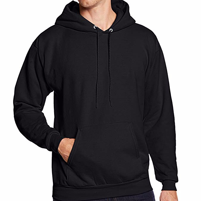 OEM Customize <strong>Men</strong> <strong>Black</strong> Pima Cotton Blank Fashion <strong>Hoodies</strong>
