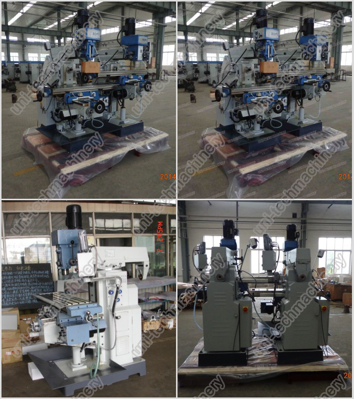 ZX6350A Universal metal horizontal vertical milling machine
