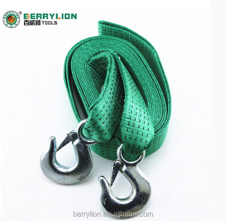 Berrylion car lashing Belt 5Tons Trailer with Fine Professional 6meters Trailer