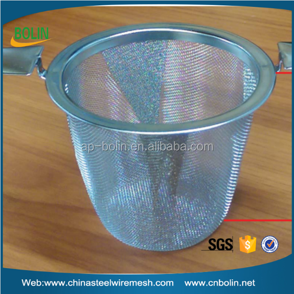 Tea Leaves Spice Tea Filter Stainless steel mesh tea leaves strainer basket