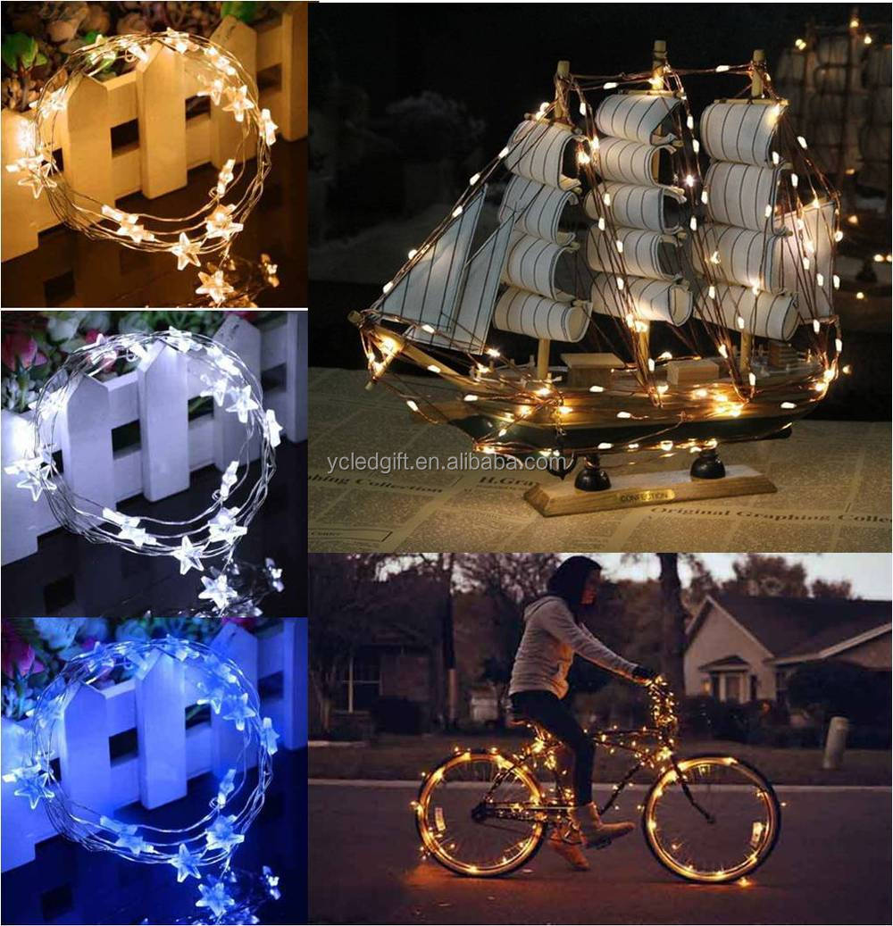 Warm White Led Christmas Lights Wholesale Item Fairy Light Flexible  Customzied Mini Led Copper Wire String